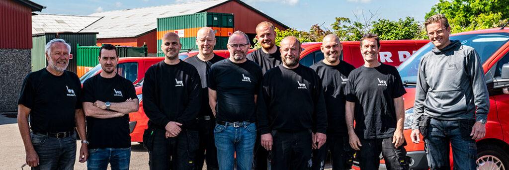 Vores team af erfarne teknikere og rådgivere er klar til at hjælpe.